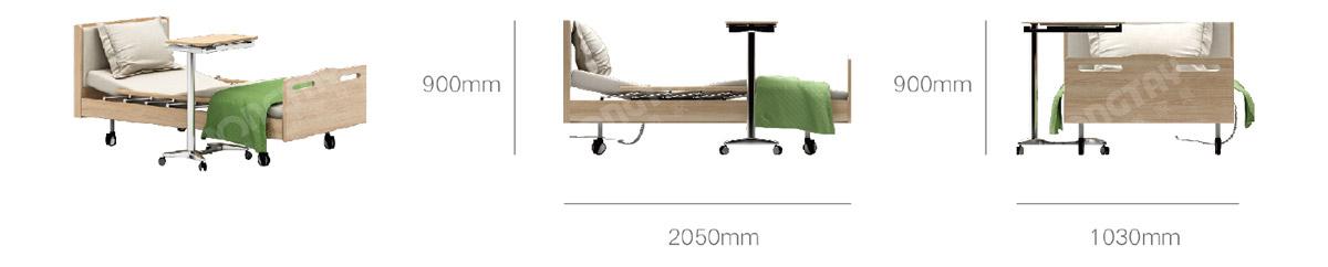 养老家具-三功能护理床