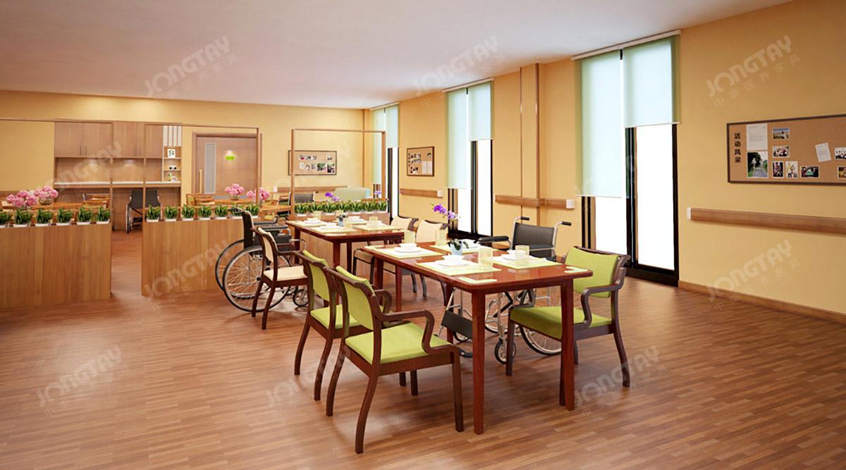 广州市老年病康复医院适老化家具建设案例