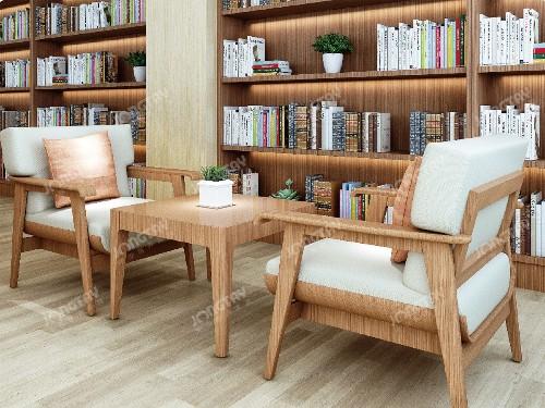 养老院阅览室家具
