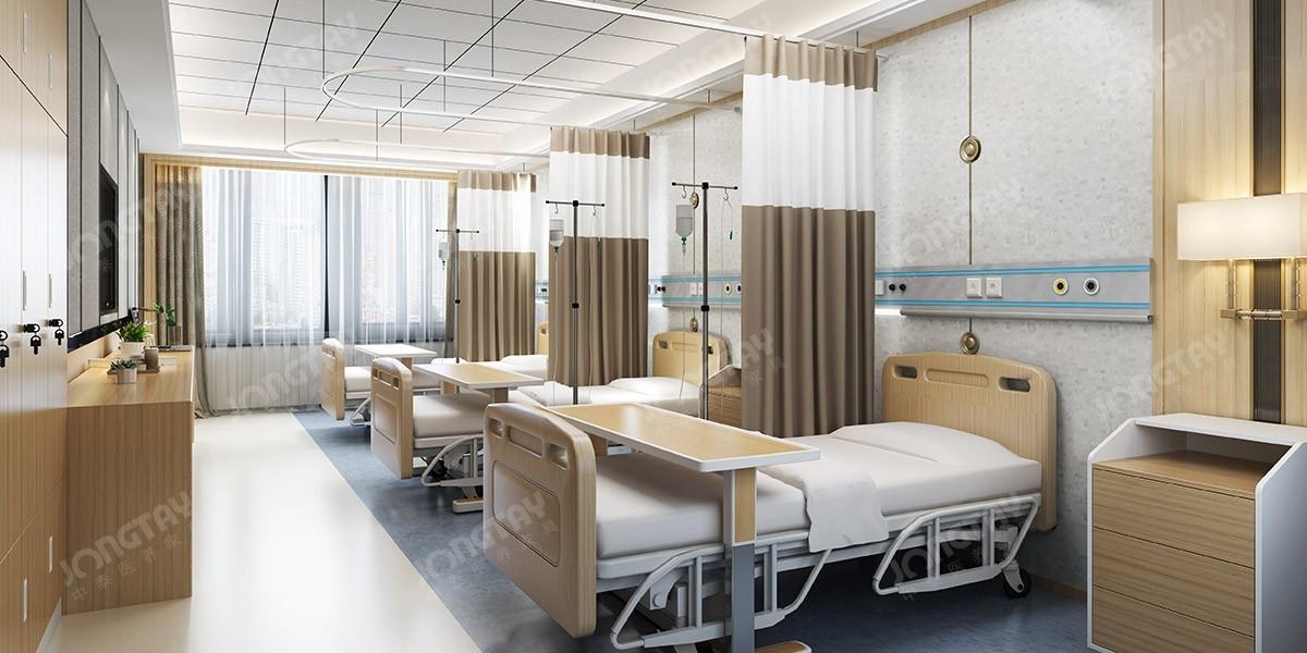 医院三人病房家具